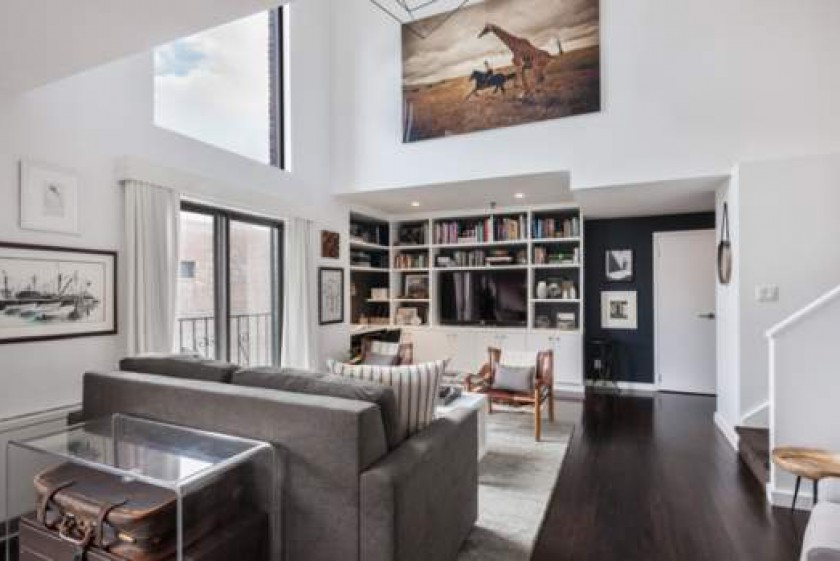 A One-Bedroom Duplex Penthouse that Packs a Light-Filled Punch