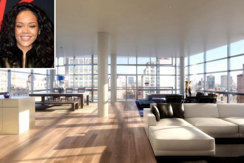 Rihanna checks out $18M Manhattan pad
